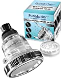 Best Shower Filter PureAction Filtered Shower Head - Filters Chlorine, Removes Hard Water, Prevents Hair & Skin Dryness - The Best Wall Mounted Showerhead with 3 High Pressure Flow/Spray Setting and 10000 Gallon Filter