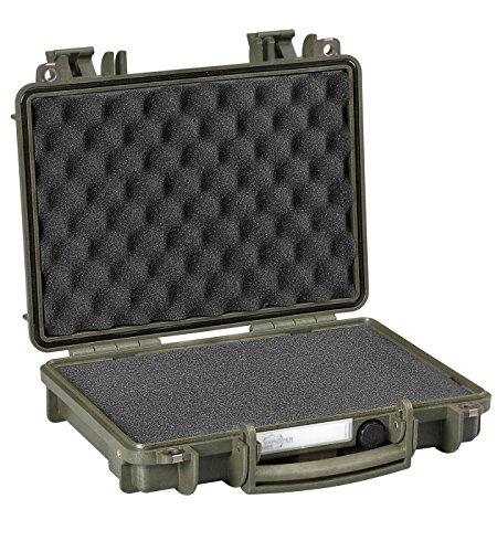 - Explorer Cases Explorer Handgun Case 3005G, Olive, Single Pistol