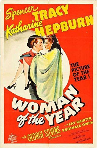 Girl of the Year Poster Movie B 27 x 40 Inches - 69cm x 102cm Spencer Tracy Katharine Hepburn Fay Bainter Dan Tobin Reginald Owen Roscoe Karns William Bendix