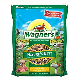 Wagner\'s 62069 Nature\'s Best Blend, 6-Pound Bag
