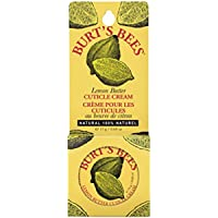 Burt's Bees Lemon Butter Cuticle Cream, 0.6 Ounce (Pack of 3)