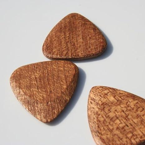 Tonos madera de caoba madera Miranda de púas para guitarra ...