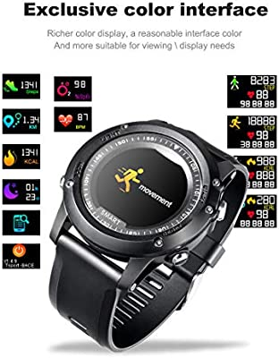 MTSBW Smart Watch Sport IP68 Presión Arterial Impermeable Monitor ...