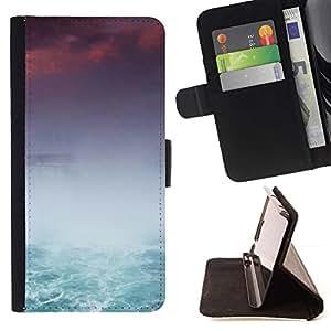 Momo Phone Case / Flip Funda de Cuero Case Cover - Cataratas del Niágara - Samsung Galaxy A3