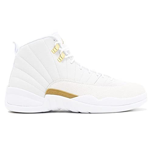best sneakers 11b34 a197a Jody M Avery AIR Jordan 12 Retro OVO 873864 102 White True Flight  Basketball Shoe  Amazon.ca  Shoes   Handbags