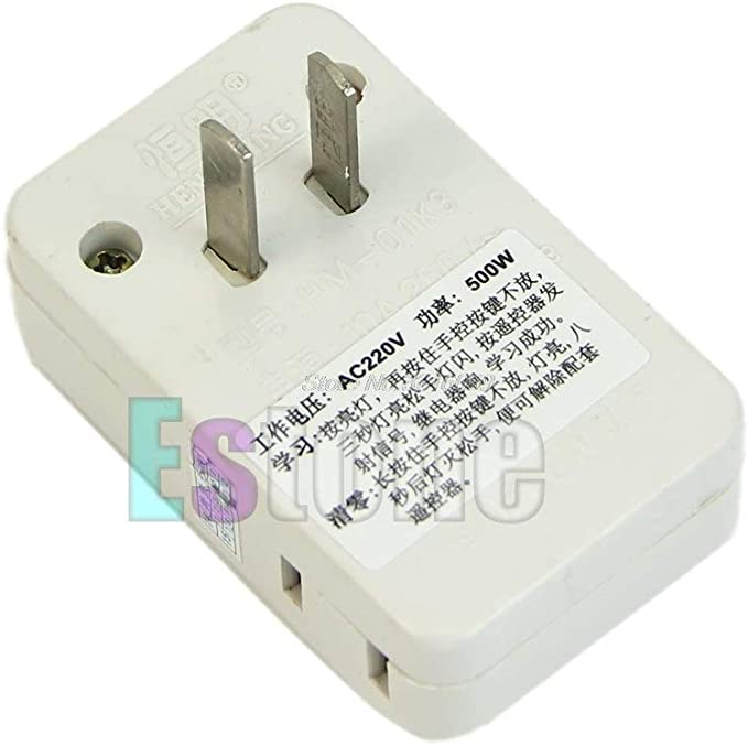 1PC Energy Saving IR Infra-Red Wireless Remote Control Outlet Switch Socket
