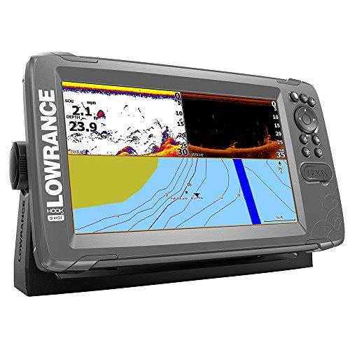 Lowrance 000-14297-001 Hook2-9 Combo, Inland Maps, Downscan