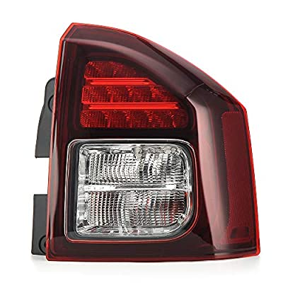 MotorFansClub Tail Light Taillamp for Jeep Compass 2014-2020 Right Passenger Side: Automotive