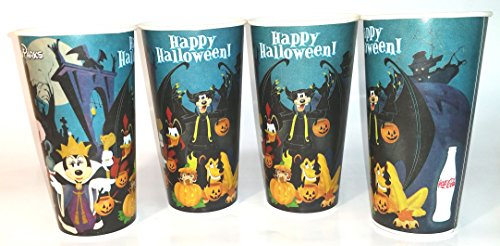 Disneyland Happy Halloween Paper Cups 2010 set of 4]()