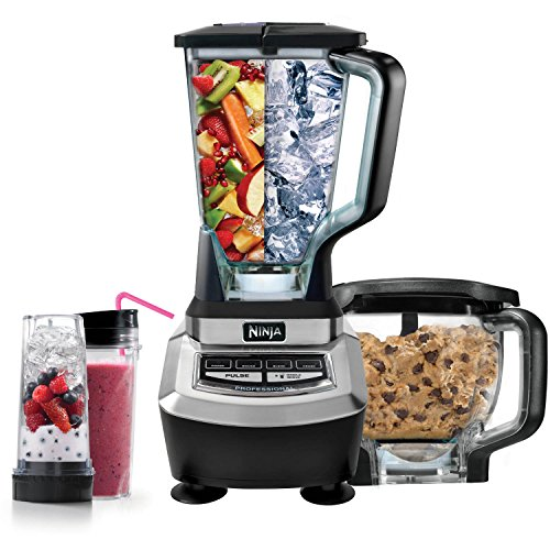 Blender System with Food Processor and Single Serve Cups - BL780 (Certified Refurbished) (Professional Processor)