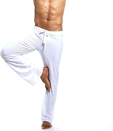 LuckyGirls Hombre Pantalones Pijama Casual Yoga Chándal Pantalón ...