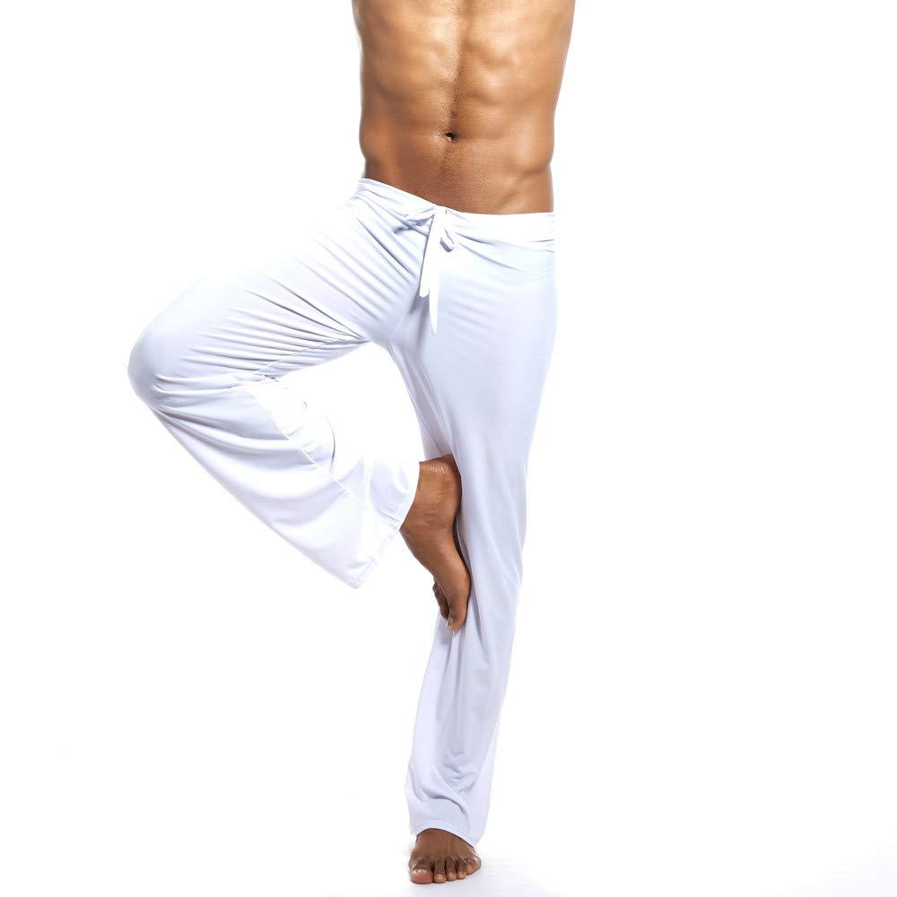 LuckyGirls Hombre Pantalones Pijama Casual Yoga Chándal Pantalón
