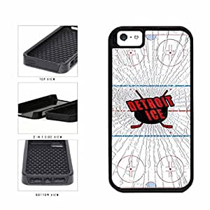Detroit Ice 2-Piece Dual Layer Phone Case Back Cover Apple iPhone 5 5s