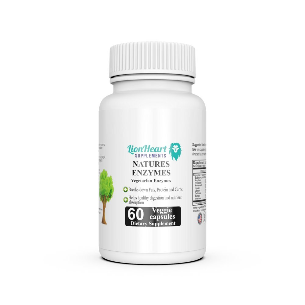 Amazon Com Best Digestive Enzymes Supplement Purified