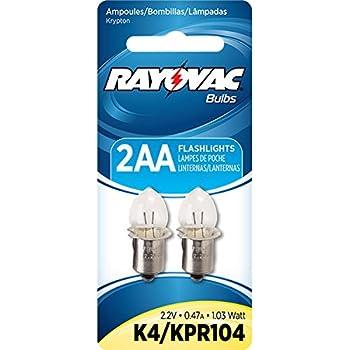 Lumilite Lk2 Krypton 2 4v 0 7a Gas Flange Base Bulb For 2d