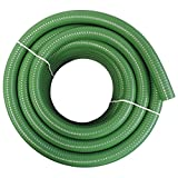 1'' Dia. x 100 ft HydroMaxx Flexible PVC Heavy Duty Green Suction and Discharge Hose