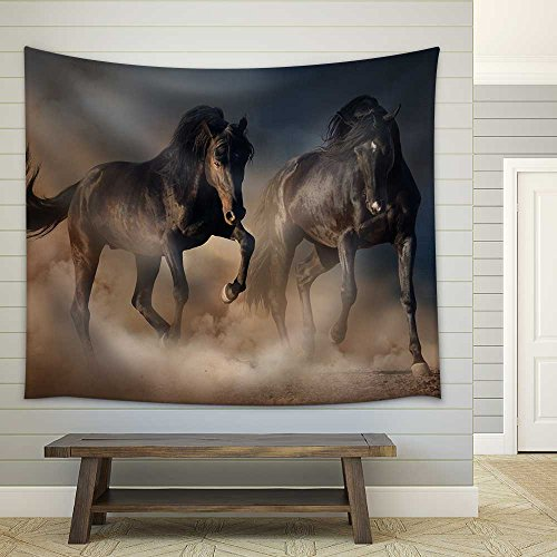 Savannah Landscape in The National Park in Kenya Fabric Wall
