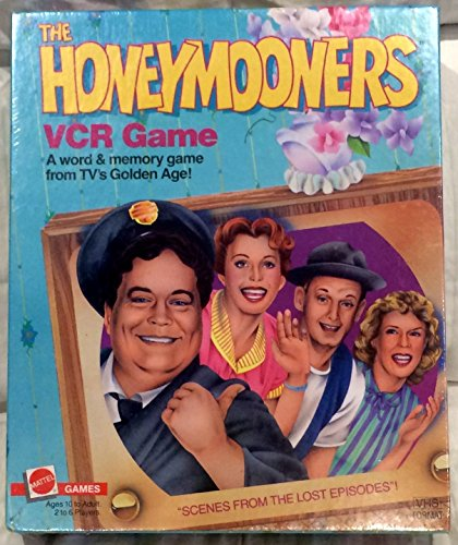 The Honeymooners VCR game. A word & memory game from TV's Golden (Honeymooners Game)