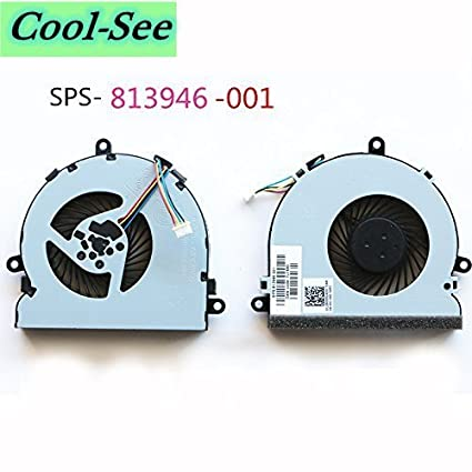 Amazon.com: Cool-See Replacement CPU Cooling Fan For HP 250 G4 255 ...