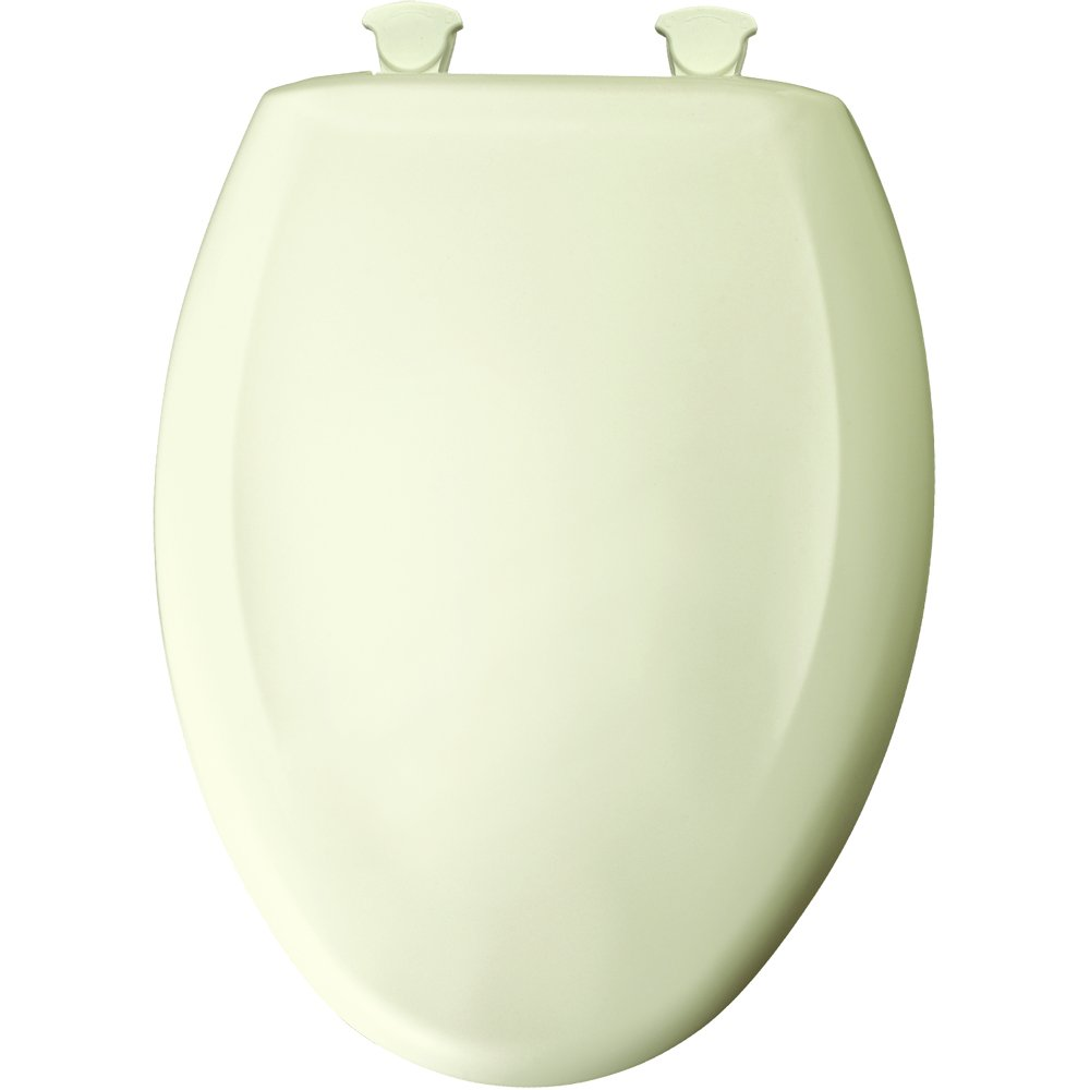 //MWSL// BEMIS 1200SLOWT-346 EL *CFWC* BISCUIT/ LINEN PLASTIC TOILET SEAT WHISPER CLOSE W/EASY CLEAN & CHANGE HINGE (WHEN OUT NO LONGER AVAILABLE)