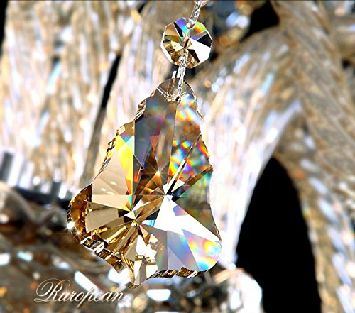 Generic Island Lights Crystals Chandelier 15 Lights Ceiling Fixtures Color Cognac by Unknown (Image #7)