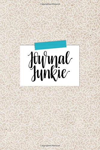 Journal Junkie: Soft Cover Bullet Journal, 120 Dot Grid Pages, 6 x 9, Bullet Grid Journal Notebook for Bujo Sketchbooks