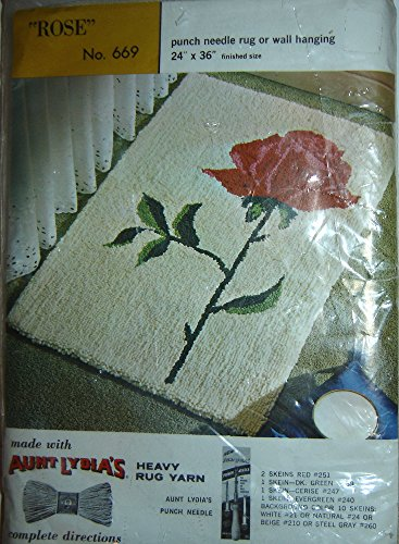 Aunt Lydia's Punch Needle Rug or Wall Hanging Foundation Canvas #669 -