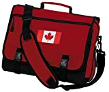Canada Laptop Bag Canada Flag Messenger Bag or Computer Bag