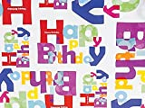 Pack Of 1, Another Birthday 24'' X 417' Roll Gift Wrap For 175 -200 Gifts Made In USA