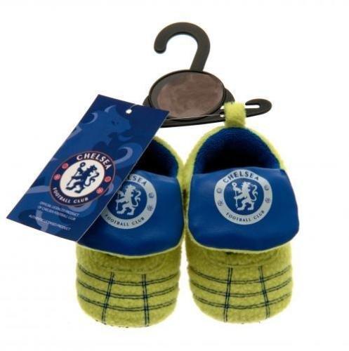 New Baby Chelsea FC Football Club neon presepe velcro scarpe stivali Gift 6/9mesi