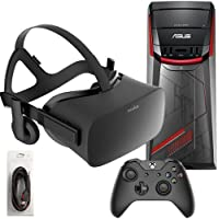 Oculus Rift 2 Items Starter Bundle:Virtual-Reality VR Headset and Asus G11CD Gaming Desktop Intel Core i5-6400 Quad Core 8GB 2133Mhz DDR4 1TB NVIDIA GTX1070