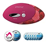 Bundle - 2 Items: Womanizer Pro W500 + SensualHut Lube 6-Pack (Red Roses)