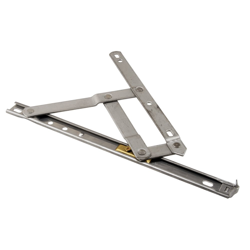 Prime-Line Products 172853-10 Casement Window Hinge, 4 Bar, 10-Inch Standard Duty, Stainless,(Pack of 2) by Prime-Line Products