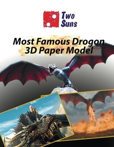 Read Online Most Famous Drogon 3D Paper Model: how to build own dragon pdf epub