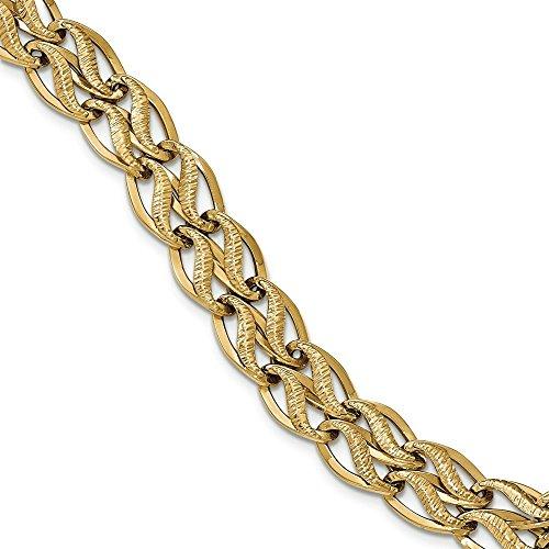 Bracelet en Or 14ct 14-20cm