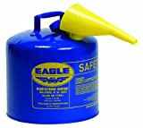 Type I Safety Can, 5 gal., Blue, 13-1/2In H