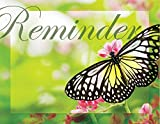 Practicon 516007 Butterfly Reminder Practicare Postcard (Pack of 200)
