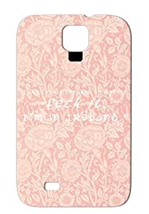 Feck It TPU White Feck Funny Ireland Quotations For Sumsang Galaxy S4 Case
