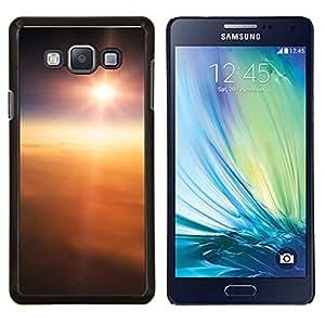 """Be-Star Único Patrón Plástico Duro Fundas Cover Cubre Hard Case Cover Para Samsung Galaxy A7 / SM-A700 ( Sun se nubla el cielo alto sobre Flying Tierra"""" )"""