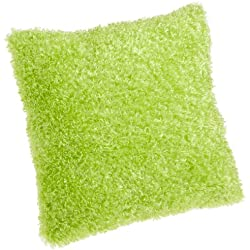Brentwood Fifi Knife Edge 18-Inch Pillow, Lime