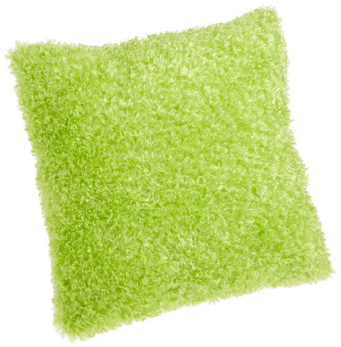 Brentwood Fifi Knife Edge 18-Inch Pillow, Lime (Pillows Bed Lime Green)