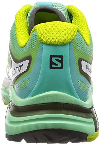 Salomon Green Wings Bubble Gree Multicolor Lucite Zapatillas Pro Entrenamiento Gecko 2 de Mehrfarbig Mujer Blue FrvFqwd