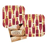 wine themed plates - Sip Sip Hooray Napkins and Plates Wine Party Supplies