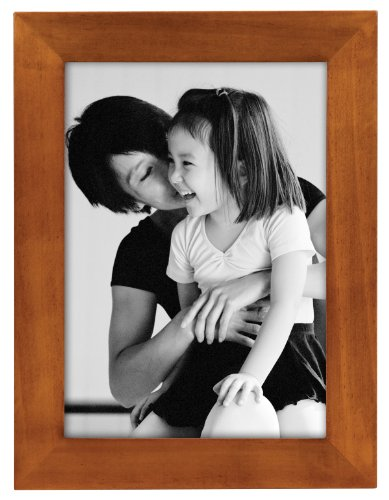 MCS 8x10 Inch Flat-Top Solid Wood Frame, Chestnut ()