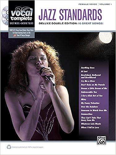 Jazz Standards: Female Voice, Volume 1: Deluxe Double