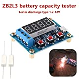Battery Testers - 18650 Li Ion Lithium Lead Acid Battery Capacity Meter Discharge