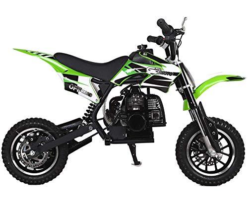 Superrio 49CC 2-Stroke Gas Power Mini Dirt Bike Dirt Off Road Motorcycle