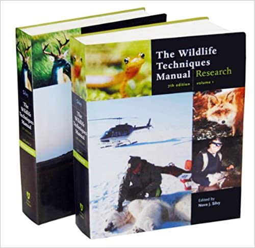 The wildlife techniques manual volume 1 research volume 2 the wildlife techniques manual volume 1 research volume 2 management 2 vol set seventh edition nova j silvy amazon fandeluxe Image collections