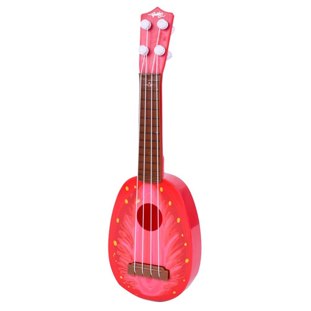 InvocBL Mini ukulélé Guitare pour bébé Enfant Couleur aléatoire
