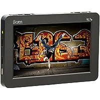 Ikan VL7e 7 HDMI Field Monitor with Canon E6 Battery Plate (Black)